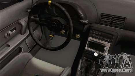 Nissan Skyline R32 Drift JDM para la visión correcta GTA San Andreas