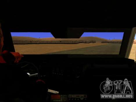 HVY Insurgentes de Recogida para GTA San Andreas vista posterior izquierda