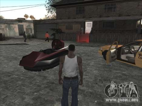 Coche Personal de CJ en Grove Street para GTA San Andreas tercera pantalla