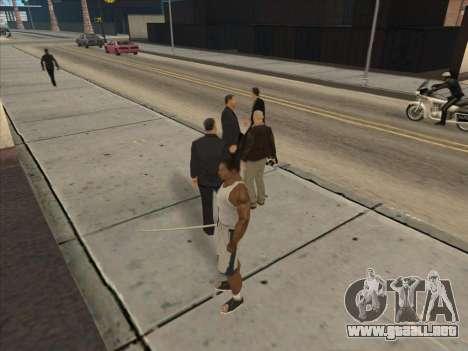 A los Rusos en el distrito Comercial para GTA San Andreas twelth pantalla