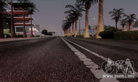 HQ Roads by Marty McFly para GTA San Andreas octavo de pantalla