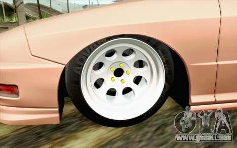 Acura Integra Type R 2001 JDM para GTA San Andreas vista posterior izquierda