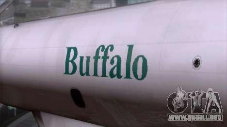 L-188 Electra Buffalo Airways para la visión correcta GTA San Andreas