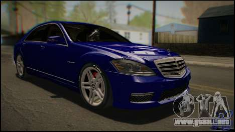Mercedes-Benz S65 AMG 2012 Road version para GTA San Andreas left