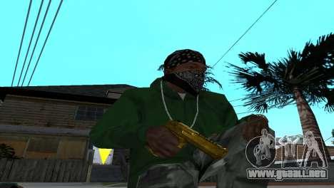 Gold Desert Eagle para GTA San Andreas