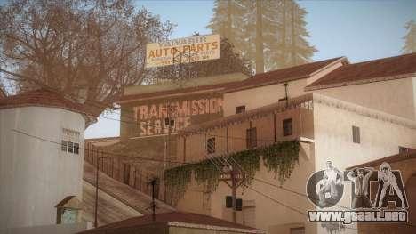 Simple ENB Series for Low PC para GTA San Andreas segunda pantalla