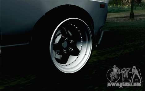 VAZ 2105 Drist-Enganches para GTA San Andreas vista posterior izquierda