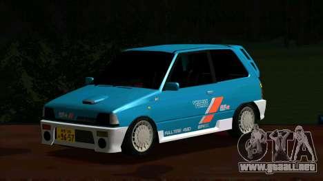 Suzuki Alto Works RS/R para GTA San Andreas left