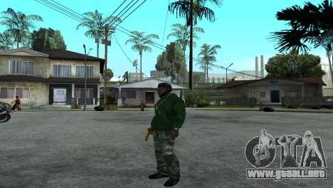 Gold Desert Eagle para GTA San Andreas sucesivamente de pantalla