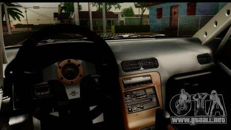 Nissan Silvia S13 Drift para visión interna GTA San Andreas