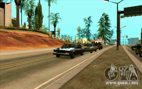 Tini ENB V2.0 Last para GTA San Andreas tercera pantalla
