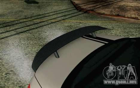 Mercedes-Benz C250 AMG Brabus Biturbo Edition EU para la visión correcta GTA San Andreas