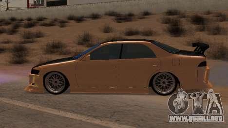Toyota Mark II para visión interna GTA San Andreas
