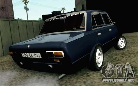 VAZ 21011 Hobo para GTA San Andreas left