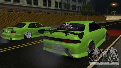 Toyota Mark II Tourer_V para GTA San Andreas left