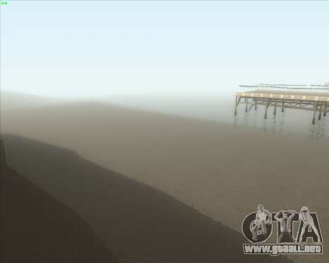 ENB Series New HD para GTA San Andreas quinta pantalla