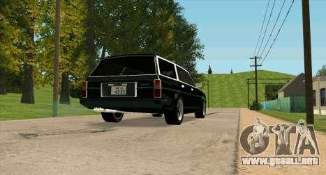 TOYOTA Mark II Wagon (GX70) para la visión correcta GTA San Andreas