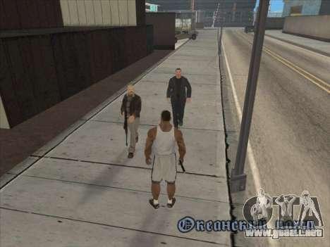 A los Rusos en el distrito Comercial para GTA San Andreas novena de pantalla