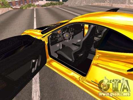 Ferrari F430 para GTA San Andreas interior
