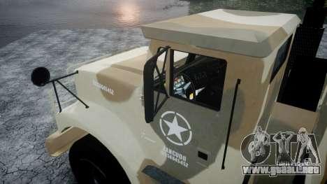 GTA 5 Barracks v2 para GTA 4 vista interior