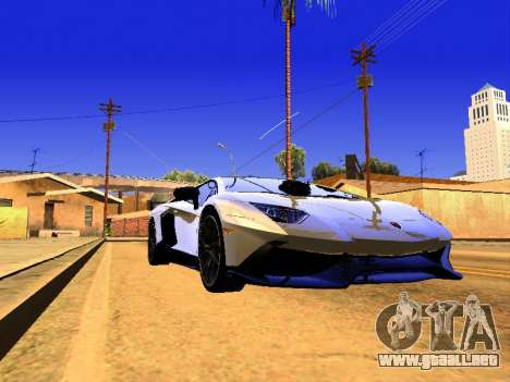 Lamborghini Aventador Novitec Torado para GTA San Andreas