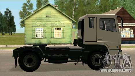 Mitsubishi Fuso Super Great FP-R para GTA San Andreas left