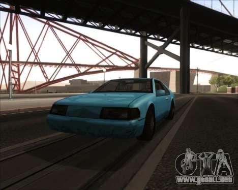 ENB v3.2.3 para GTA San Andreas sexta pantalla