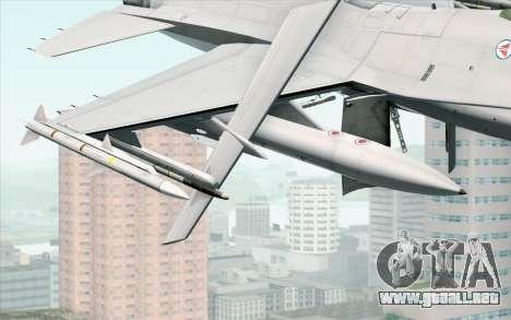 F-16 Fighting Falcon RNoAF PJ para la visión correcta GTA San Andreas