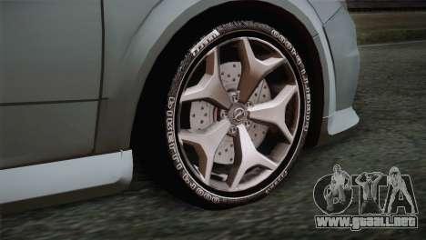 Opel Astra OPC Stock para GTA San Andreas vista posterior izquierda