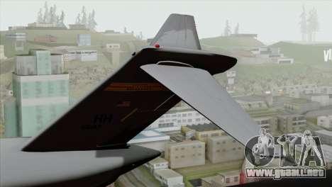 C-17A Globemaster III USAF Hickam para GTA San Andreas vista posterior izquierda
