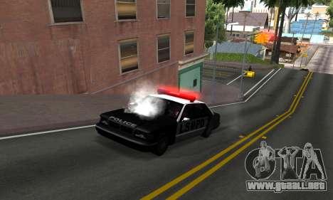BeautifulDark ENB para GTA San Andreas sucesivamente de pantalla