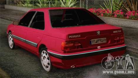 Peugeot Pars para GTA San Andreas left