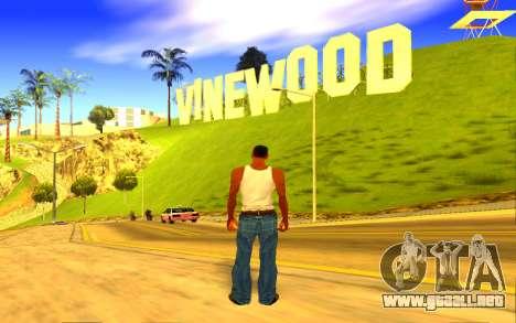 Colorful ENBSeries para GTA San Andreas sucesivamente de pantalla