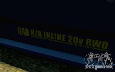 GTA 5 Karin Futo SA Mobile para la visión correcta GTA San Andreas