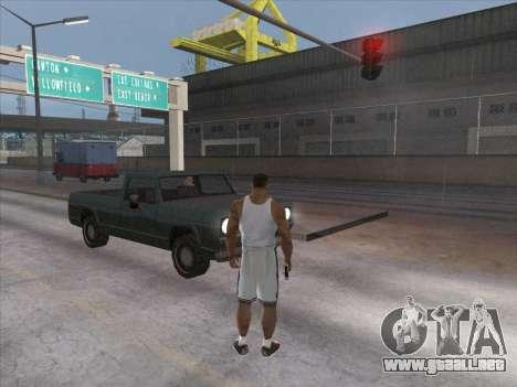 A los Rusos en el distrito Comercial para GTA San Andreas sexta pantalla