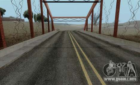 HQ Roads by Marty McFly para GTA San Andreas segunda pantalla