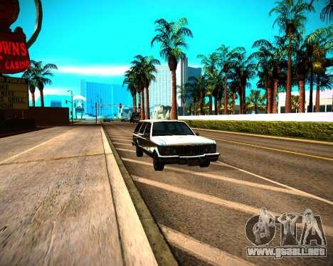 ENB GreenSeries para GTA San Andreas sexta pantalla
