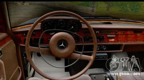 Mercedes-Benz 300 SEL 6.3 (W109) 1967 HQLM para visión interna GTA San Andreas