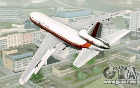 DC-10-30 Garuda Indonesia Sulawesi para GTA San Andreas left