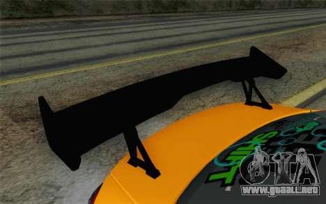 Mitsubishi Lancer Evolution X v2 para la visión correcta GTA San Andreas