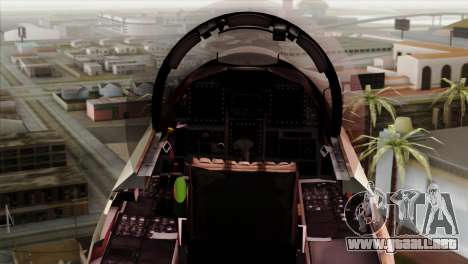 F-15E Strike Eagle Israeli Air Force para la visión correcta GTA San Andreas
