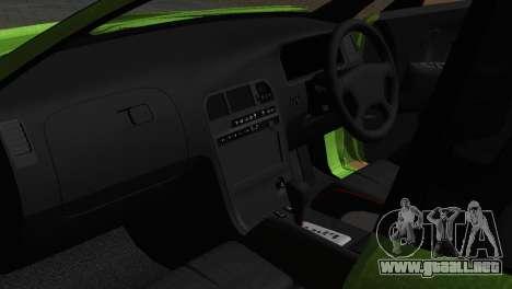 Toyota Mark II Tourer_V para visión interna GTA San Andreas