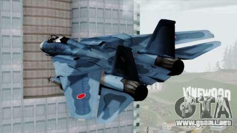 F-14 Japan Air Self Defense Force para GTA San Andreas left