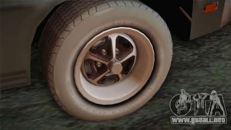 FlatOut 2 Scorpion para GTA San Andreas vista posterior izquierda