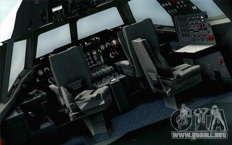 DC-10-30 Garuda Indonesia Sulawesi para GTA San Andreas vista hacia atrás
