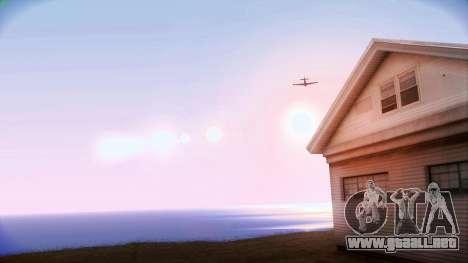 Lenoxx ENB para GTA San Andreas segunda pantalla