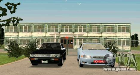 TOYOTA Mark II Wagon (GX70) para GTA San Andreas vista hacia atrás