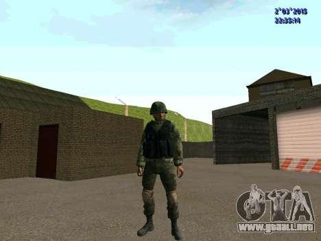 Guerrero batallón de Oriente para GTA San Andreas