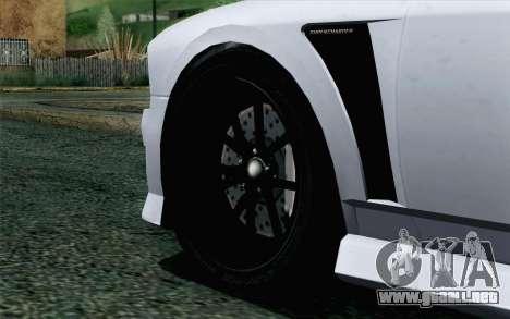 GTA 5 Bravado Buffalo S v2 para GTA San Andreas vista posterior izquierda