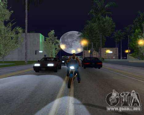 ENB for SAMP by MAKET para GTA San Andreas quinta pantalla